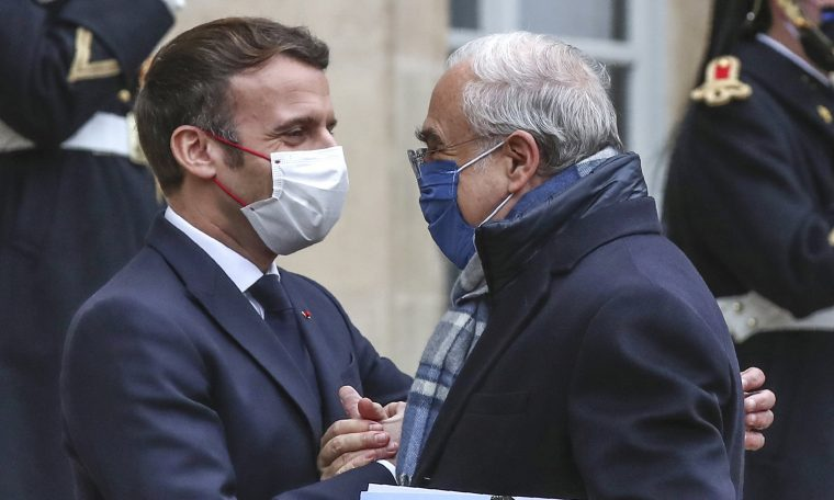 France's Macron expels virus, Versailles and fever