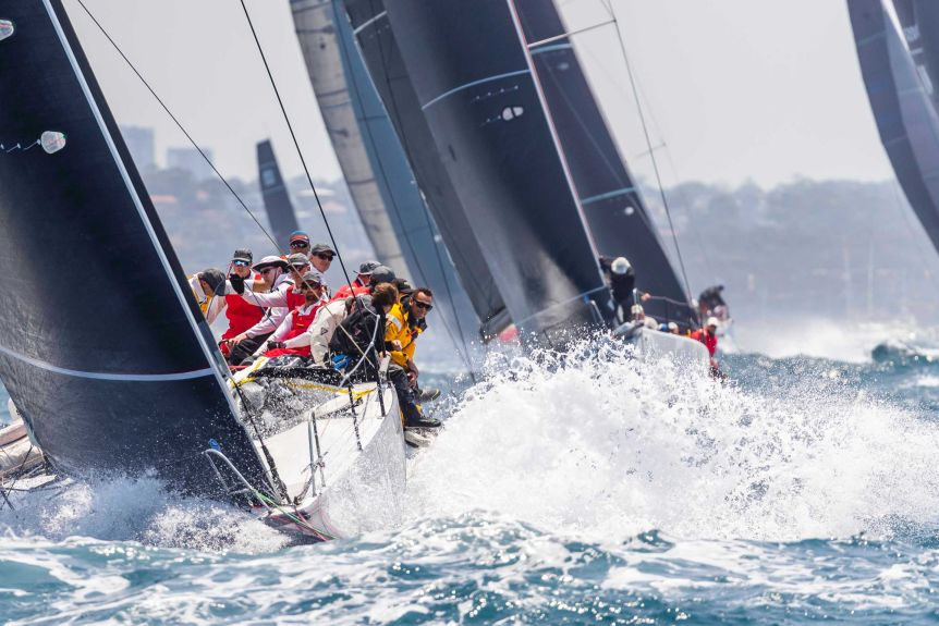 Aichi Ban crew from Sydney to Hobart