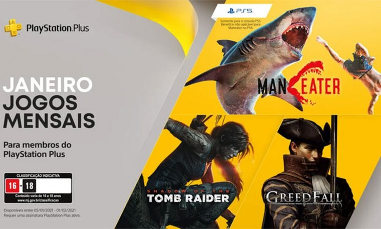 Sony announces PS Plus games for January 2021