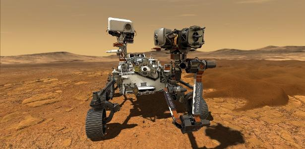 Mars: '7 minute terror' of robot in search of life on red planet - 12/25/20