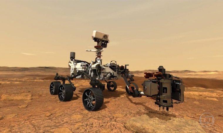 NASA reveals national newspaper about probe landing on Mars