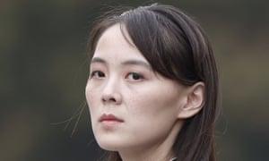 North Korean leader Kim Jong-un's sister Kim Yoo-jong.