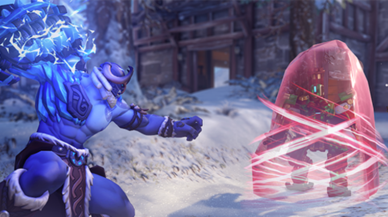 Overwatch is free for a limited time and hosts a Christmas event.  eSports