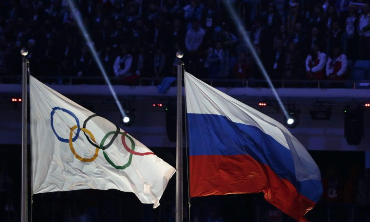 Russia has banned the use of its name and flag in the next two Olympics