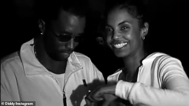 Tribute: Sean 'Diddy' Kambs remembers his late ex-girlfriend Kim Porter in his Instagram clip as she turns 50 on Tuesday