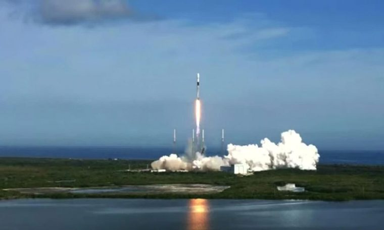 SpaceX launches successfully after days of satellite after another rocket crashes in Texas