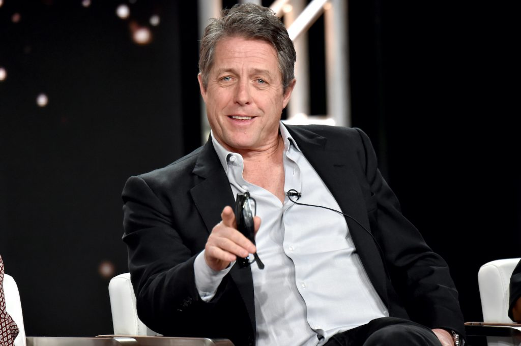 He appeared on the Huge Grant stage of 'The Ending' during the HBO part of the 2020 Winter Television Critics Association's press tour.