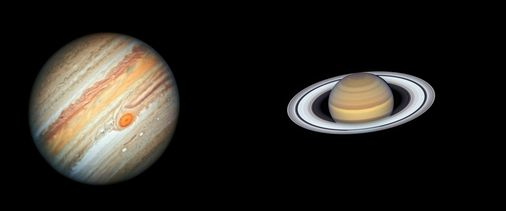 Will the 'great combination' of Jupiter and Saturn be visible to us in New England?