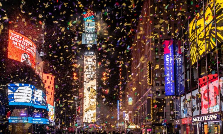 Mundo celebrates the arrival of 2021;  See how the New Year celebrations went  world