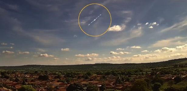 A meteor fall in broad daylight causes a blast in Bahia;  Eye