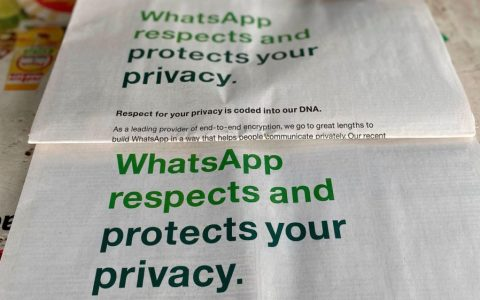 WhatsApp changed the privacy policy