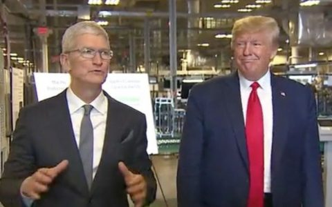Tim Cook gave Donald Trump the first 2019 Mac Pro
