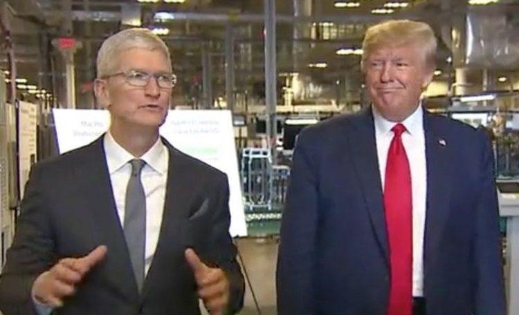 Tim Cook gave Donald Trump the first 2019 Mac Pro