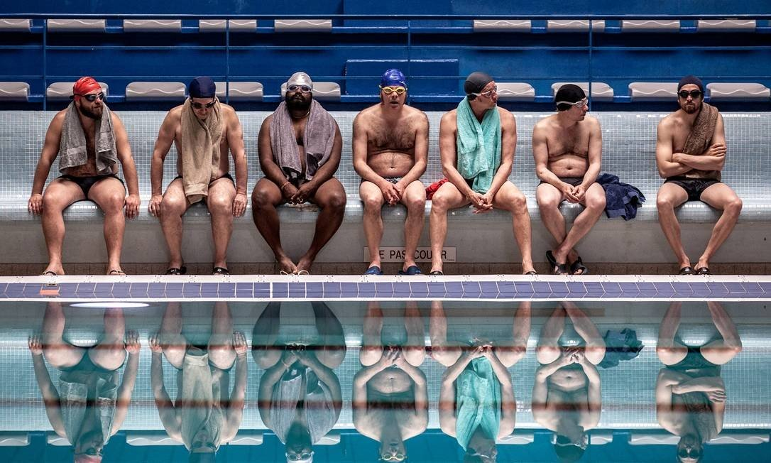 """Bath of life"", Available on Netflix, is a non-coordinated swimming team.  Photo: Disclosure"
