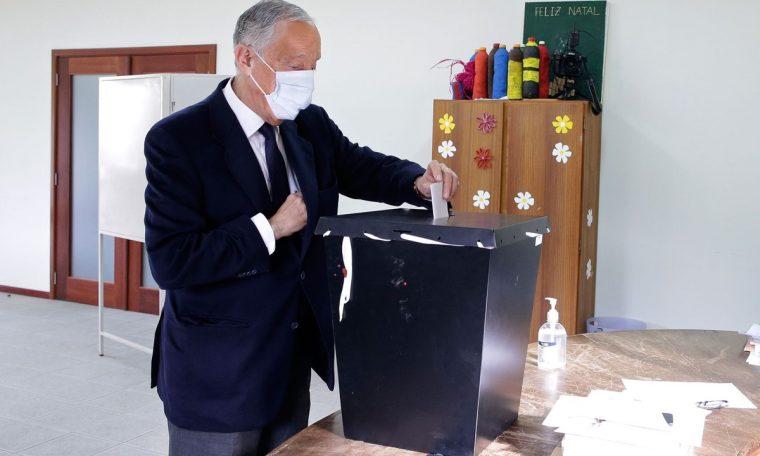According to estimates Marcelo Rebelo de Susa has been re-elected President of Portugal World