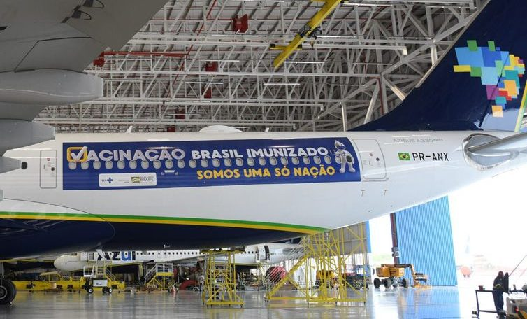 Airplanes receiving vaccines in India will fly from Recife today