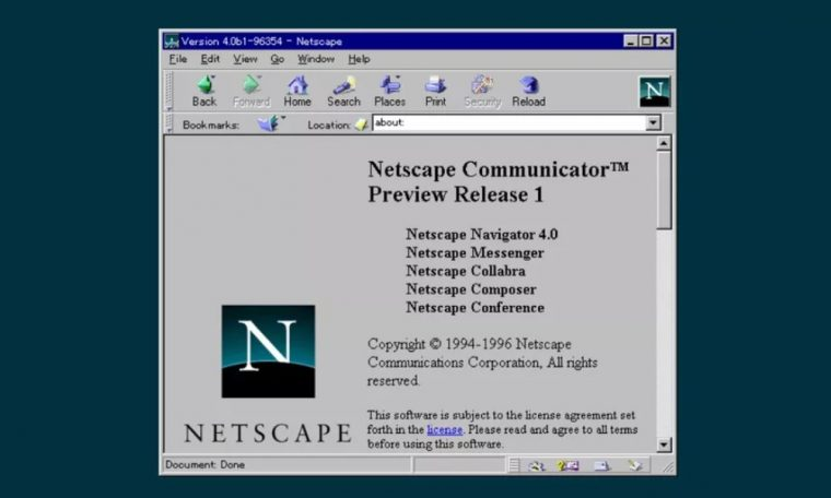 Brexit deal bringing Netscape Communicator to EU after 23 years