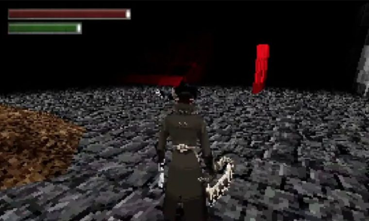 "Curiosity: The fan makes a ""PS1 version"" of Bloodborne;  See how the project is doing"