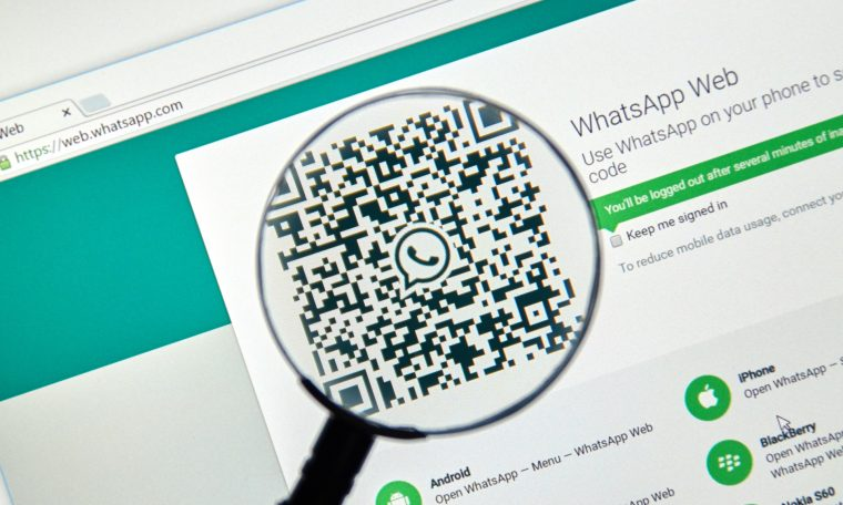 How to enable biometric authentication on whatsapp web