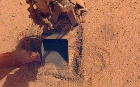 NASA quits soil investigation on Mars 01/15/2021 after being too difficult