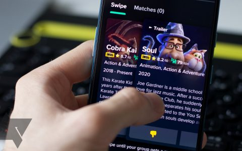 Swipe With Friends is like Tinder to watch movies and watch shows