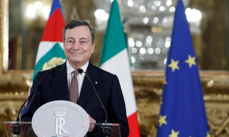 Mario Draghi agrees to act as Italy's Prime Minister