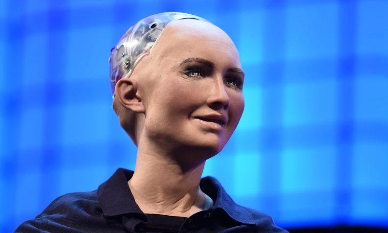 Sofia: A robot promising to destroy humans will be mass produced.  Technology