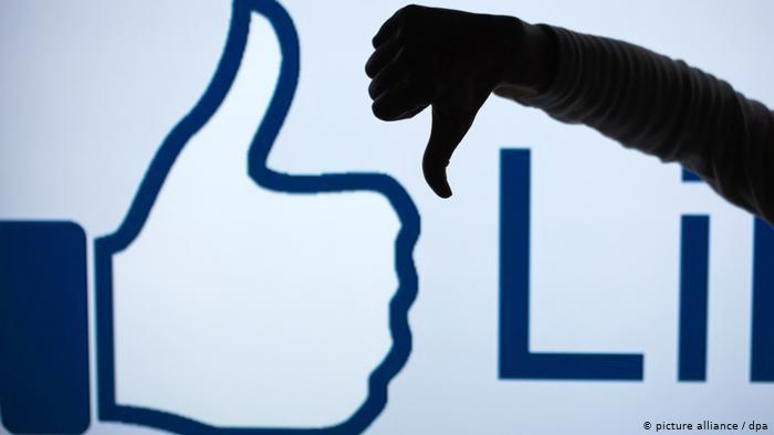 Facebook - Dislikes