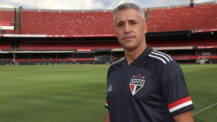 Hernán Crespo - Press Release / SPFC - Press Release / SPFC