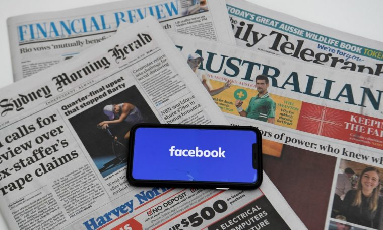 Facebook and Australia compromise technology to restore news pages after blocking