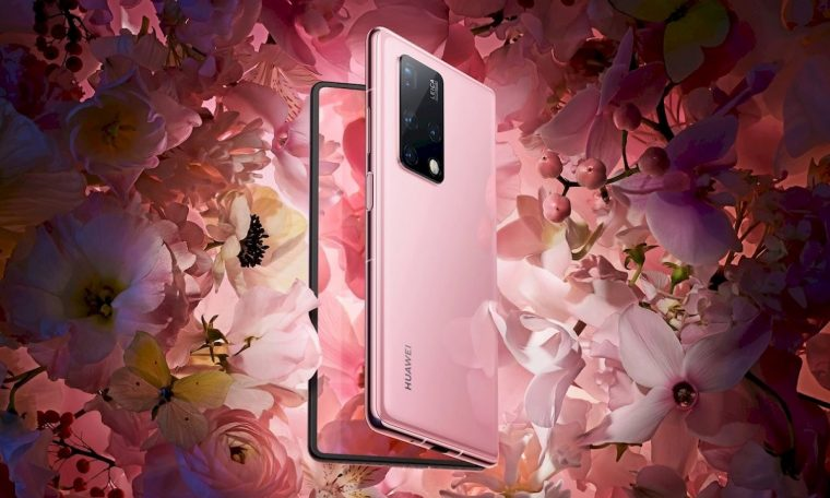 The Huawei Mate X2 folding adjusts the design of the folding screen inside the Leica camera with a periscope lens for the first time on smartphones.