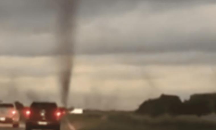 Mosquito tornado in Argentina