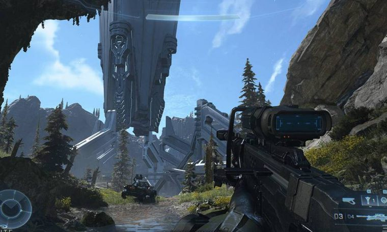 Halo Infiniti gets new images of its graphics improvements