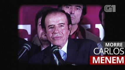 Former Argentine President Carlos Menem dies at age 90