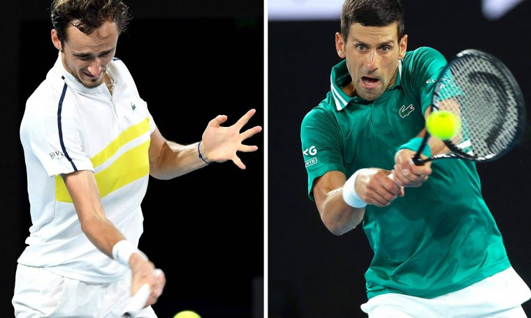 Australian finalists Djokovic behind 9th title invincible Medvedev - 02/19/2021 - Sport opposes
