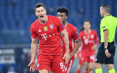 Bayern Thrash and Lewandowski hit historic milestone in Champions - 02/23/2021 - Sport