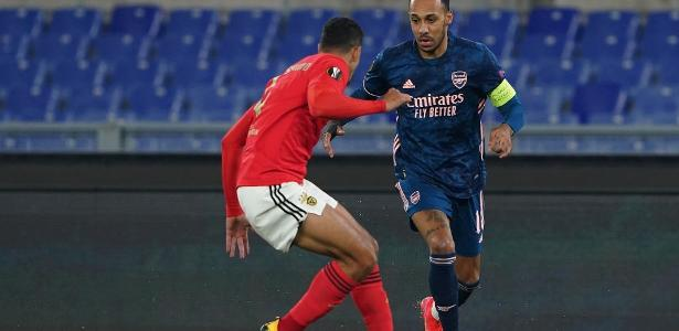 Benfica and Arsenal equal 1-1 for Europa League