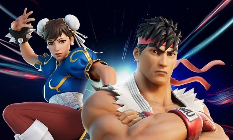 Fortnite vs. Street Fighter: Ryu and Chun-Li are the new skins;  View photos  FORTNITE