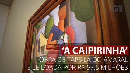 VIDEO: Discover 'A Kapringha', a painting of Tarsila by Amar at auction at $ 57.5 million