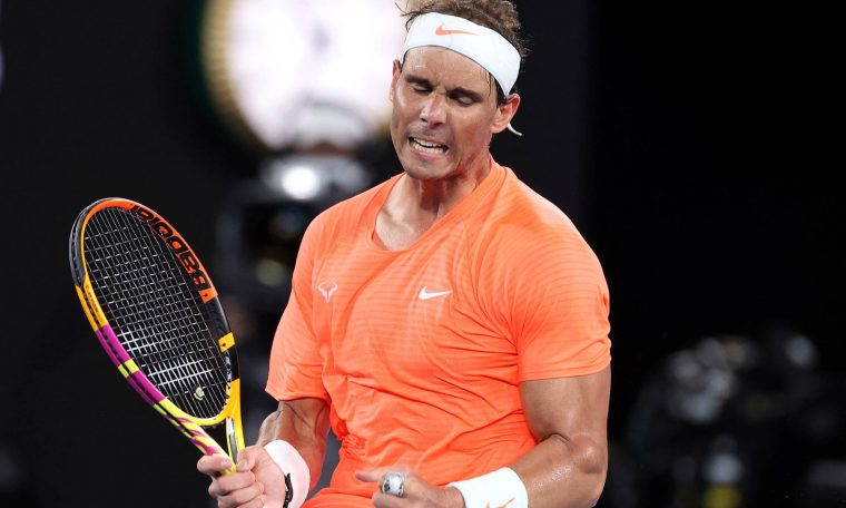 Injured, Nadal announced that he would not participate in the Acapulco tournament