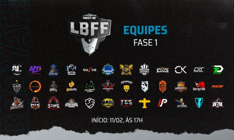 LBFF 2021: LBFF 4 Series B to start with free fire from Atletico-MG between teams this Thursday