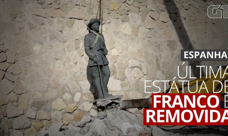 Last statue of Franco taken out for France on 'historic day' |  world