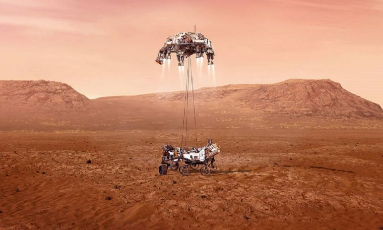 NASA Mars Rover has landed on Mars, Video - NASA - Mars