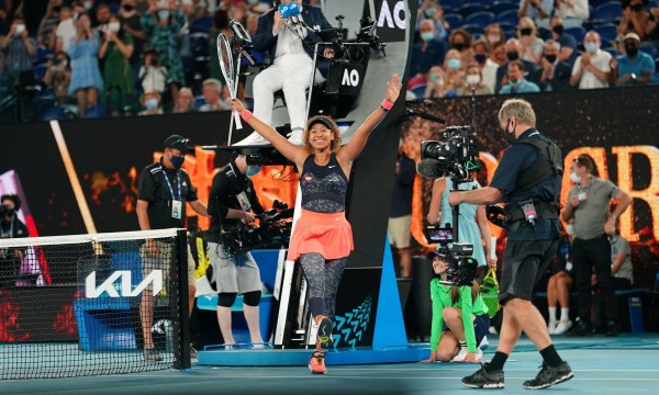 Naomi Osaka bicampe at Austrian Open |  sport