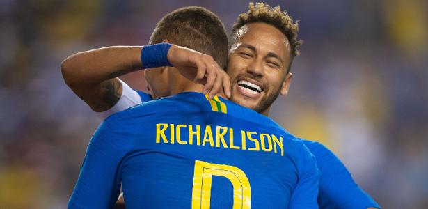 Neymar laughs that I was a fan and we became friends