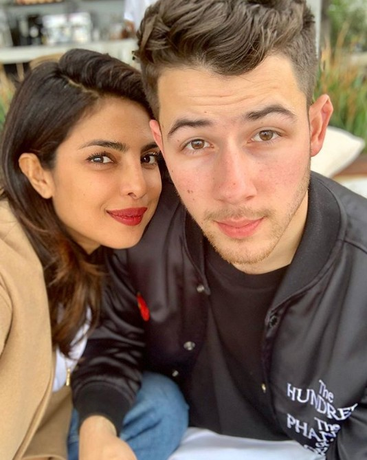 Priyanka Chopra and Nick Jonas (Instagram: Instagram)