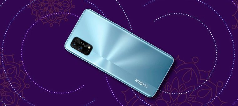 """Realme 8 Pro is """"spotted"""" in Indian actor's hands and confirmed back design"""