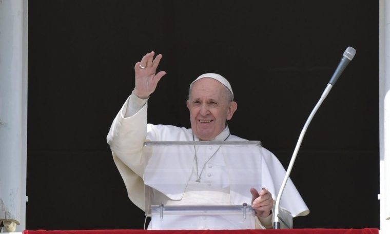 The Pope in the Angel: We must be careful of spiritual laziness