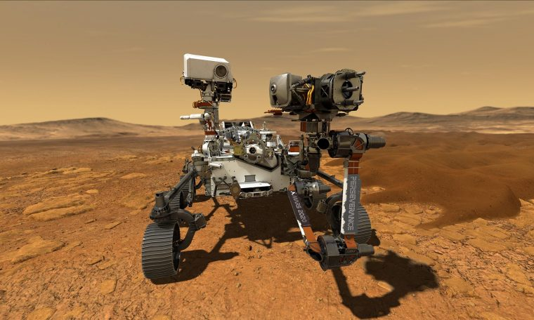 Today is  Persistence comes on Mars;  Olhar digital broadcast live