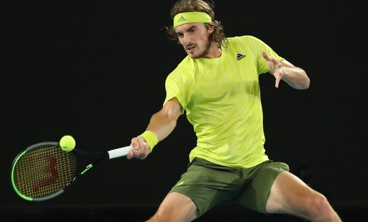 Tsitsipas debut with easy win over Frenchman Simon in Melbourne